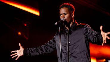 Black M en concert pour Viva for life