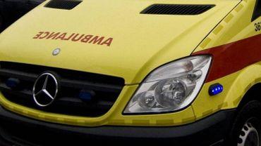 Touchée au front et à la jambe, la victime a dû être hospitalisée (photo d'illustration)