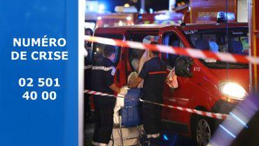 Nice: un numéro pour les Belges sans nouvelles d'un proche