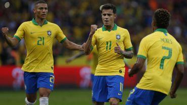 Le Brésil se balade et plante 7 buts à cinq jours de sa Copa America