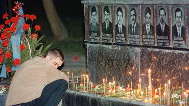 Le mémorial des victimes de l'accident de Tchernobyl