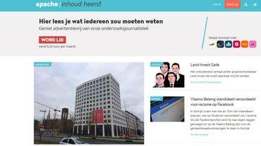 Un promoteur immobilier proche de Bart De Wever fait pression sur le média flamand Apache