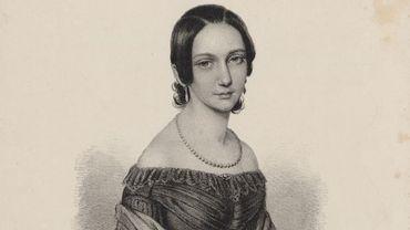 Portrait de Clara Wieck vers 1838