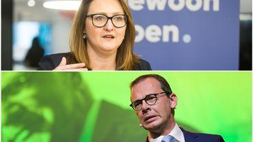 L'Open VLD exclut totalement de gouverner avec le Vlaams Belang, le CD&V doute de pouvoir travailler avec l'extrême droite