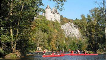 Il y a beaucoup trop de kayaks sur la Lesse, dénoncent les défenseurs de l'environnement