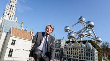 La patron de Mini-Europe et d'Océade, Thierry Meeus.