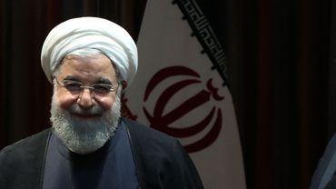 Hassan Rohani en 2019 à Téhéran