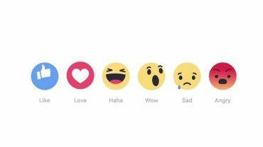 Wouah Grrr Et Haha Facebook Lance Ses Nouvelles Variations Du J Aime