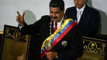Le président vénézuélien Nicolas Maduro a prêté serment le 24 mai 2018 à Caracas