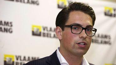 Tom Van Grieken désigné nouveau président du Vlaams Belang