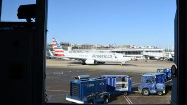Un avion sur le tarmac de l'aéroport Ronald Reagan à Washington, le 19 décembre 2017