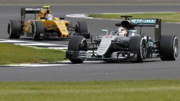 F1 : Hamilton et Palmer