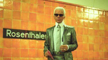 20 portraits de Karl Lagerfeld signés Daniel Biskup seront exposés pendant 3 mois à l'Hôtel de Rome à Berlin.