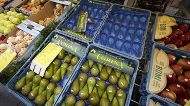 Embargo russe: chaque Belge devrait manger une pomme et une poire par jour