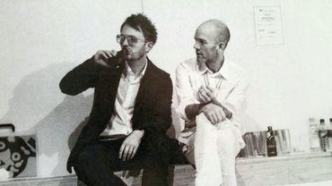 La photo du jour: Michael Stipe et Thom Yorke