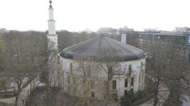 La grande mosquée du Cinquantenaire à Bruxelles.