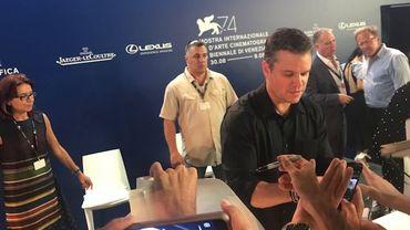 Mostra, Jour 1: Matt Damon, la star du film d'ouverture de la 74ème Mostra de Venise