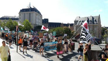 Deux cent cinquante personnes manifestent pour les droits des animaux à Bruxelles