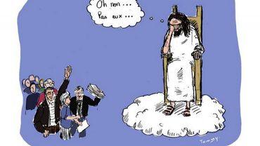 Quand les caricaturistes dessinent leur solidarité avec Charlie Hebdo