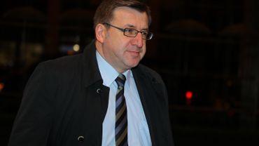 Le ministre des Affaires étrangères, Steven Vanackere