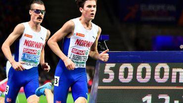 Nouveau festival de Jakob Ingebrigtsen sur 5000m, Kimeli 5e