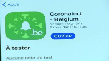 Coronalert, l'application de traçage digital belge devrait être disponible dès septembre