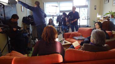 Coulisses tournage LAD de Clémence Boulouque