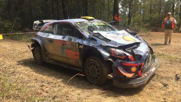 La Hyundai i20 Coupé WRC d'Andreas Mikkelsen