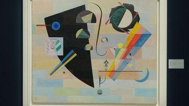"""""""Krass und Mild (Dramatic and Mild)"""", de Kandinsky"""