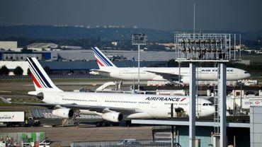 A l'aéroport d'Orly, près de Paris, le 18 septembre 2014
