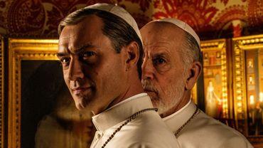 The New Pope, de Paolo Sorrentino. avec Jude Law etJohn Malkovich