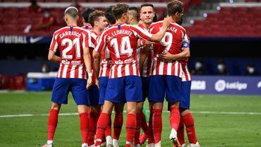 Victoire de l'Atletico Madrid ce vendredi soir