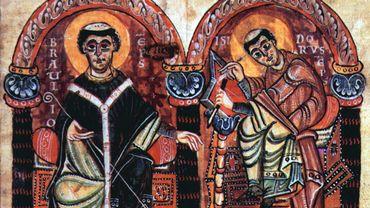 Braule de Saragosse et Isidore de Seville - Meister des Codex 167