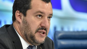 Le tour de vis contre les immigrés est le refrain de l'été de Matteo Salvini, ministre  italien de l'Intérieur