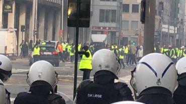 Dispositif policier renforcé pour la venue éventuelle des gilets jaunes samedi