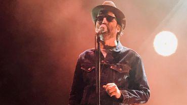 L'Américain Mark Oliver Everett en concert à Londres avec on groupe Eels le 2 juillet 2018.