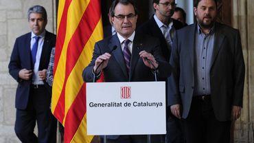 Artur Mas, président de Catalogne