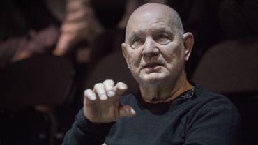 L'homme de théâtre Lars Norén à Stockholm le 8 mars 2017