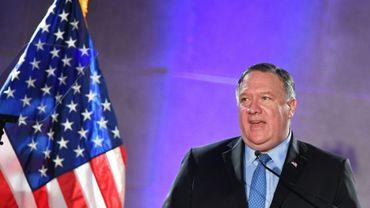 Mike Pompeo, le secrétaire d'Etat américain à Washington le 22 mai 2019
