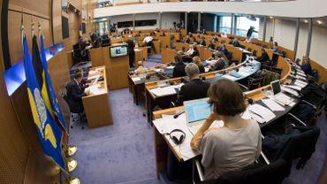 Le Parlement bruxellois.