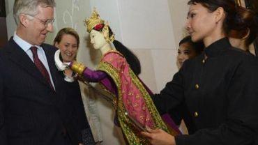 Prince Philippe en Mission economique  en Thailande