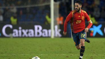 Isco et Cazorla de retour avec l'Espagne en qualifications pour l'Euro 2020