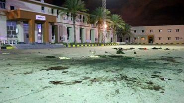 Un raid aérien contre l'école militaire de al-Hadba al-Khadra, un secteur résidentiel peuplé de Tripoli, a tué 28 cadets et blessé des dizaines d'autres, le 4 janvier 2020