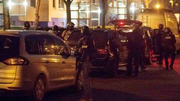 Opérations de police dans les milieux islamistes, le 14 janvier 2020 à Berlin, en Allemagne