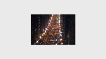 Des dizaines de milliers de personnes manifestent le 12 janvier 2013 à Bilbao pour demander le retour des prisonniers de l'ETA au Pays basque