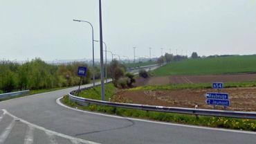 Le futur tronçon routier fera la jonction entre Lobbes et celui existant d'Erquelinnes à Maubeuge (photo)