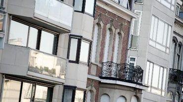 Des immeubles en Région bruxelloise
