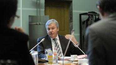 Jean-Claude Marcourt, ministre wallon de l'Économie