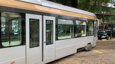 Ce vendredi après-midi, le tram 8 a déraillé à hauteur de l'arrêt Legrand
