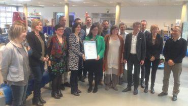 Le personnel de la SWDE a été mis à contribution pour obtenir le certificat Iso 14001